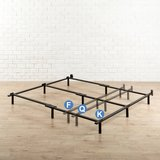 """Zinus Adjustable 7"""" Bed Frame - Fits Full, Queen or King Size - New! in Joliet, Illinois"""
