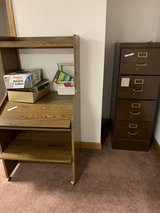 Computer desk and filing cabinet in St. Charles, Illinois