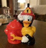 Firefighter Donald Duck in Yorkville, Illinois