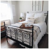 FULL SIZE BED FRAME in Bolingbrook, Illinois