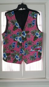 JAN SALE PRICE Men - Vest - Large - Tropical Design in St. Charles, Illinois