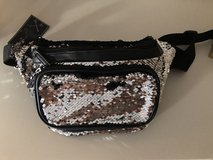 New Sequined Fannie Pack - Silver & Black in St. Charles, Illinois