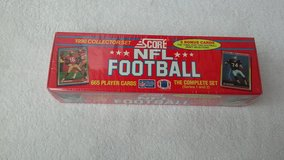 1990 Score NFL Trading Card Set  Series 1 and 2 (Complete) in Fort Riley, Kansas