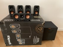 Klipsch Reference Theater Pack 5.1 Surround Sound System in Wiesbaden, GE
