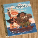 Disney Moana Little Golden Book Hard Cover in Chicago, Illinois