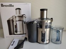Breville Juice -5 speed selector with LCD juicing speed guide in Fort Eustis, Virginia