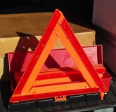 Emergency Warning Triangle Reflector Set - New in Chicago, Illinois