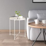End Table - Nightstand - Removable Tray - White - New! in Bolingbrook, Illinois