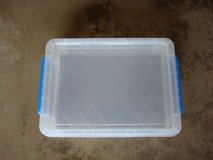 "8 3/4 "" X 12 "" X 2 1/2 "" TALL PLASTIC  STORAGE  CASE in Plainfield, Illinois"