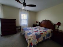 Bedroom set: bed, bedside tables and chest of drawers in Batavia, Illinois