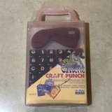 Craft Punch Set Numbers & Alphabet in Case Brand New in Fairfield, California
