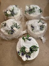 Decorative Hat Boxes For Wedding Shower/Wedding/Baptism/Communion (5 count) in Chicago, Illinois