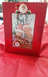 Christmas picture frame in Kingwood, Texas