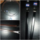 Men size 42 reversible Belts . in Beaufort, South Carolina
