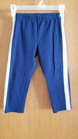 blue with multi color strip down side sz. 10/12 in Plainfield, Illinois