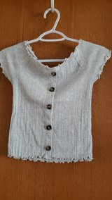 grey top sz. 12 (justice) in Plainfield, Illinois
