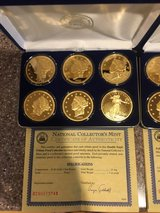 Gold mint coins in Camp Lejeune, North Carolina
