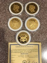 Mint gold coins set of 5 in Camp Lejeune, North Carolina