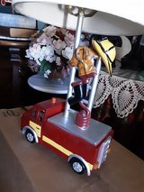 Fire Engine Lamp in Fairfield, California