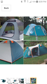 Family Camping Tent in Ramstein, Germany
