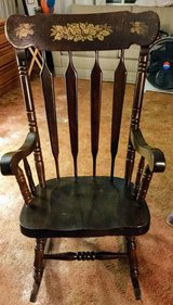 Wooden Rocking Chair in Tinley Park, Illinois