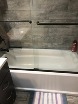 Shower Doors and Tub in Yucca Valley, California