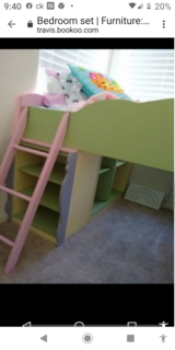 Bunk bed in Travis AFB, California
