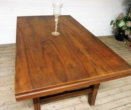 Antique Solid Rosewood Table for 6 people in Ramstein, Germany