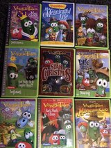 VeggieTales 9 DVDs in Bolingbrook, Illinois
