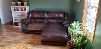 Leather couch in Fort Knox, Kentucky