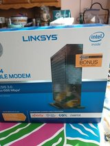 Linksys 16x4 cable modem up to 686mbps in Warner Robins, Georgia