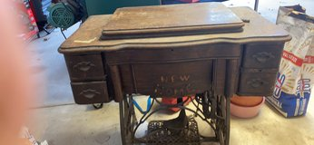 Antique New Home Sewing Machine in Tinley Park, Illinois