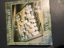 Glass Chess Set in Fort Knox, Kentucky