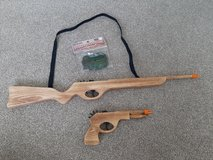 RUbber band gun lot with rubber bands in Morris, Illinois