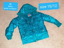 Girls size 10/12 Gerry coat great condition in Morris, Illinois
