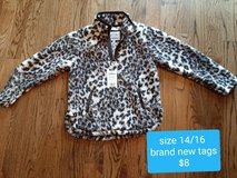 Girls size 14/16 Brand new tags Sherpa very warm in Morris, Illinois