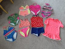Girls size 10/12 swimsuit lot all for $10 in Morris, Illinois