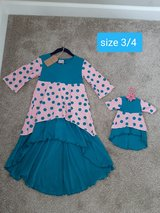 Mommy and Me size 3/4 brand new Boutique outfit in Morris, Illinois