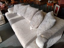White Textured Sofa in St. Charles, Illinois