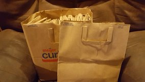 Free paper grocery bags in Yorkville, Illinois