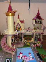 Playmobil Castle with coach and Waterfall in Stuttgart, GE