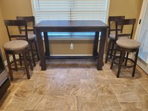Ashley Drewing Bar Table & 4 Stools in Fort Campbell, Kentucky
