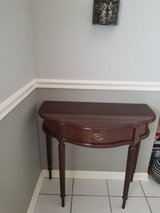 Entryway table with storage drawer in Plainfield, Illinois