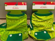 Two (2) dog pajamas size small in Plainfield, Illinois