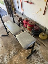 Weight Set - Bench Press and Dumbbells w/ everything you see pictured in St. Charles, Illinois