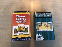 Early reading, spelling flashcards in Bolingbrook, Illinois