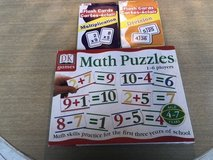 Math Flash Cards and Matching Game in St. Charles, Illinois