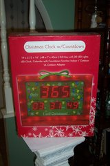 christmas clock with countdown in Conroe, Texas