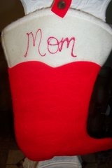 """Cowboy boot """"Mom"""" Stocking in Conroe, Texas"""