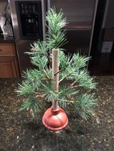 "Plunger Christmas Tree - 16"" Tall in Bolingbrook, Illinois"